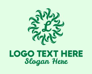 Grass - Green Grass Lettermark logo design