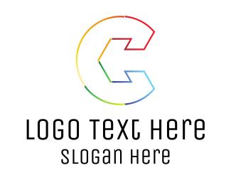 Letter - Arrow Letter C logo design