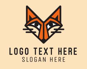 Jackal - Orange Fox logo design