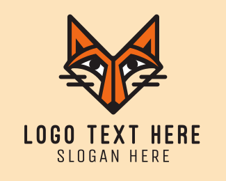 Cartoonish - Orange Fox logo design
