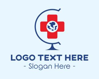 Global - Global Hospital logo design