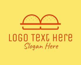 Burger - Burger Buns Restaurant logo design