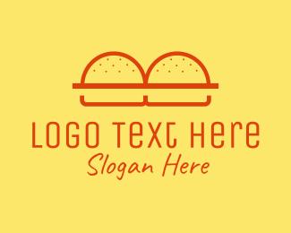 Baking - Burger Buns Restaurant logo design