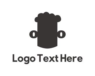 Brew - Beer Man logo design