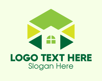 Architecture Firm - Geometric Home Construction  logo design