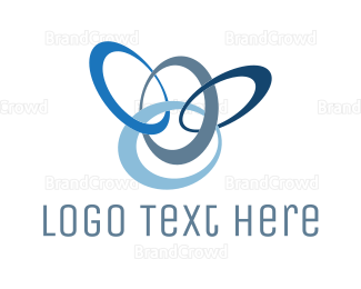 Ring - Blue Rings logo design