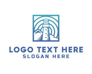 Leadership - Blue Lighthouse logo design