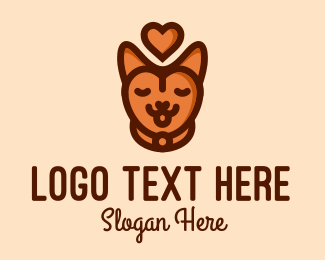 Pet Accessories - Pet Cat Love  logo design