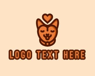 Pet Store - Pet Cat Love logo design