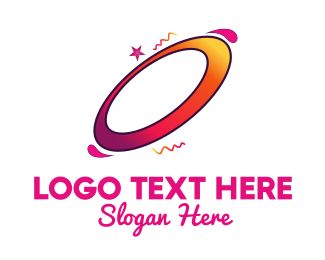 Playful - Ellipse Rotation logo design