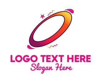 Spin - Ellipse Rotation logo design