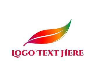 May - Colorful Leaf logo design