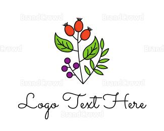 Farm To Table - Elegant Herb logo design