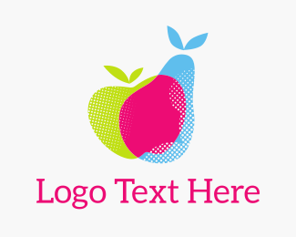 Rgb - Fresh Fruit RGB logo design