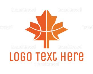 Canadian - Canadian Basketball logo design