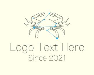 Explorers - Cancer Zodiac Sign  logo design