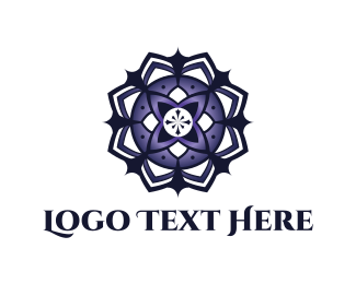 Chakra - Mandala Flower logo design