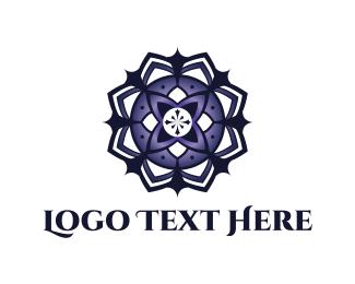 Mandala Flower Logo