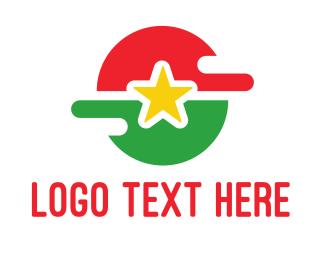 Air Travel - Burkina Faso Symbol logo design