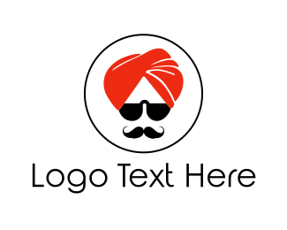 Sri Lanka - Cool Turban logo design