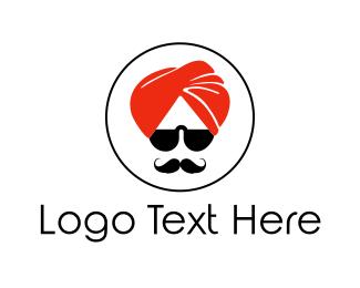 India - Cool Turban logo design