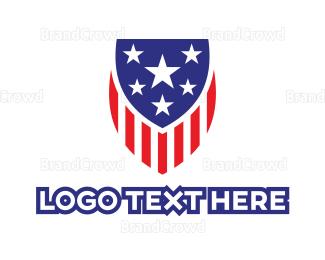 America - America Shield logo design