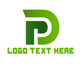 Pd - Monogram PD Gaming logo design