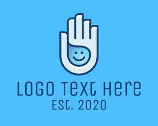 Liquid - Happy Hand Sanitizer Liquid logo design