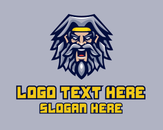 Viking - Esports Viking Avatar logo design