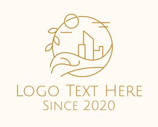 Urban Planning - Urban City Building logo design