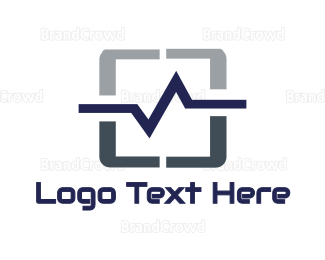 Frequency - Pulse Tablet logo design
