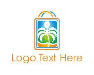 Holiday - Palm Shop logo design