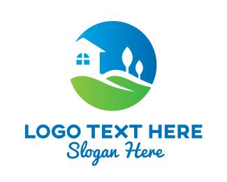 Turf - House Garden Landscape logo design