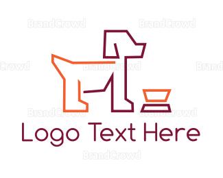 Bowl - Dog & Bowl logo design