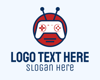 Logo Design - game bot