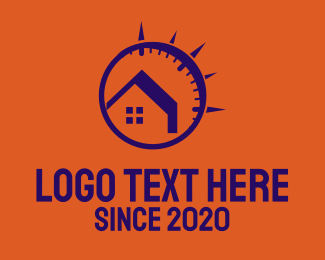 Buying - Time House Realty logo design