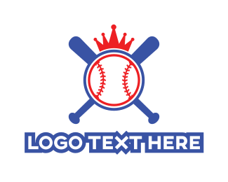 Baseball - Baseball Crown logo design
