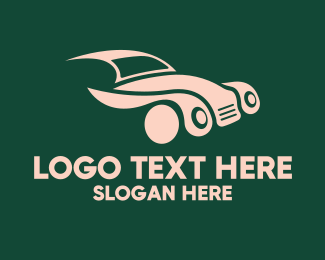 Drive - Vintage Classic Automobile Car logo design