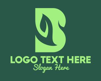 Vegan - Vegan Letter B logo design