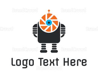 Robot - Photo Robot logo design