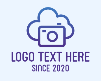Digital Media - Media Cloud Storage logo design