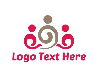 Family - Spiral Family logo design
