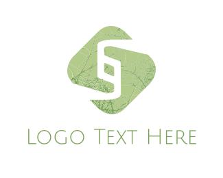 Link - Green Chain logo design