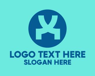 Monogram - V & X Monogram logo design