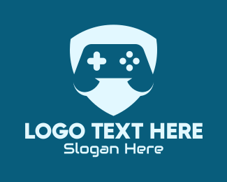 Video Game - Video Game Shield logo design