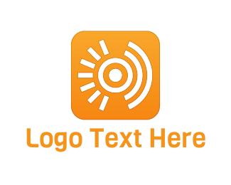 Share - Sun Signal logo design