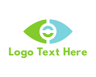 Vision - Tech Eye logo design