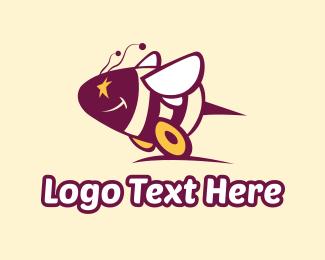 Wheel - Bee Wheels logo design