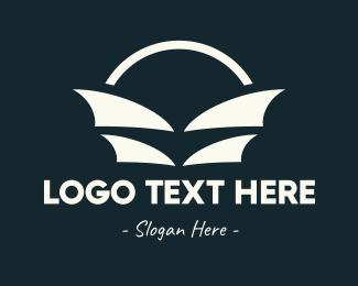 Sail - Abstract Sail Bag logo design
