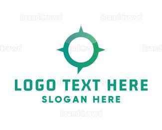 Direction - Modern Navigation logo design